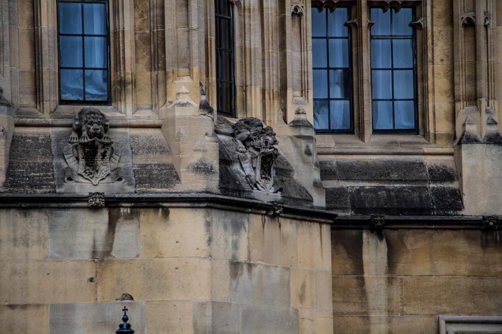 Detalle del Palacio de Westminster